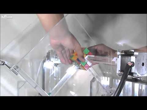 Máy giải Rubik trong vòng 1 giây