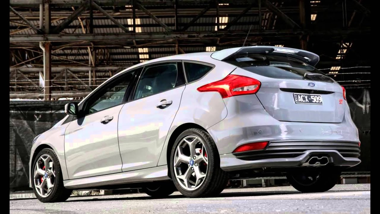 2016 Ford Focus St White Platinum