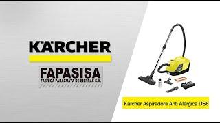 Aspiradora línea hogar Anti Alérgica DS 6 - Kärcher FAPASISA Paraguay