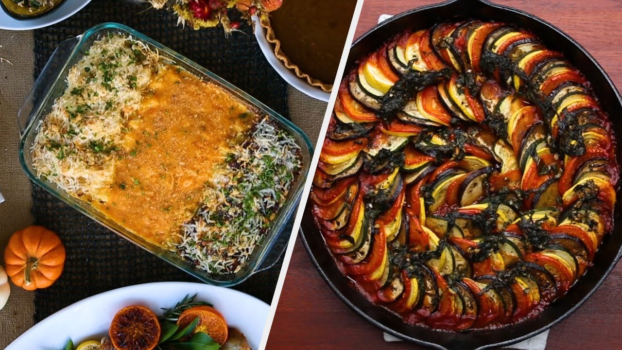 Hearty Vegetarian Recipes Fit For A Holiday Party Tasty Youtube