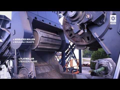 #LEFORT Shredder# NEW RANGE#Big crusher#HEAVY EQUIPMENT#BIG MACHINE#SCRAP METAL RECYCLING#BROYEUR