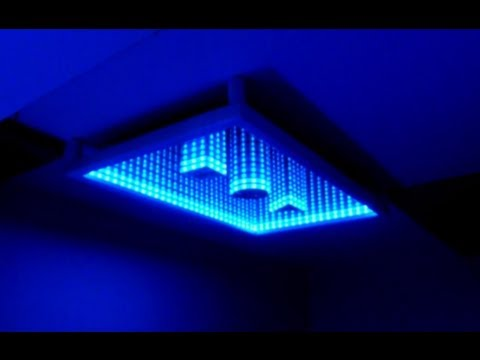 how to make an infinity mirror youtube. Black Bedroom Furniture Sets. Home Design Ideas