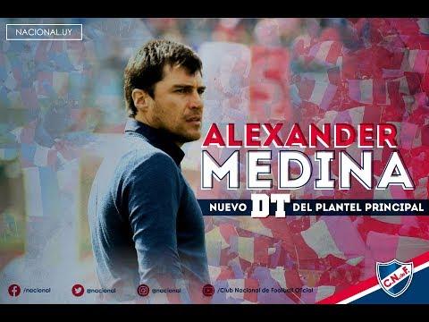 Alexander Medina, primeras palabras como nuevo DT del plantel principal