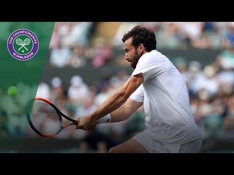 Ernests Gulbis vs Alexander Zverev 3R Highlights   Wimbledon 2018
