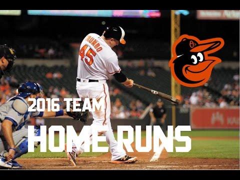 Baltimore Orioles | 2016 Home Runs (253)