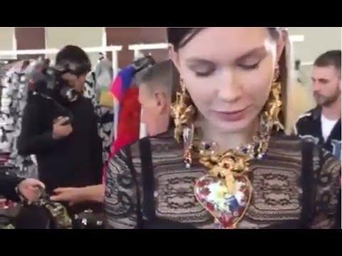 Dolce&Gabbana Shanghai Alta Moda Show - backstage