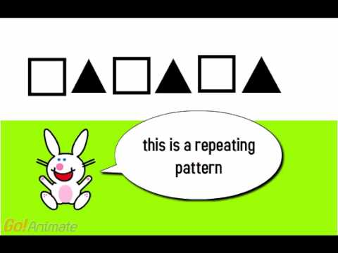 repeating patterns using shapes youtube
