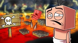 Minecraft   Who's Your Daddy Family? Baby vs Death Parkour! (WHO CAN BEAT IT?)