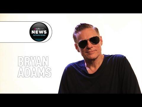Bryan Adams on Working on His New Album with Jeff Lynne
