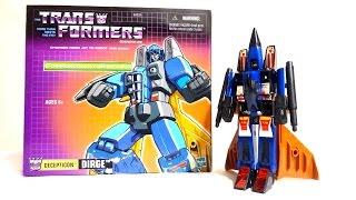 【復刻版】戦え!超ロボット生命体トランスフォーマー ダージ ヲタファのトランスフォーマーレビュー Transformers Commemorative Series 07 Dirge
