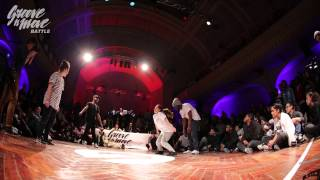 GROOVE'N'MOVE BATTLE 2015 - Hip-Hop semi-final / Ines&Karim vs Goku&Sheila