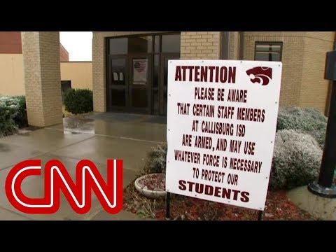 Inside school where teachers carry guns