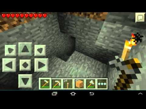 Выживание minecraft 0.8.1 часть вторая