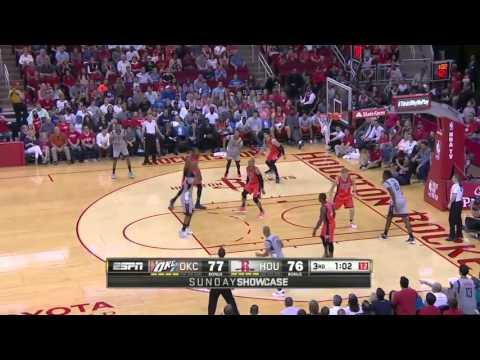 Oklahoma City Thunder vs Houston Rockets | April 3, 2016 | NBA 2015-16 Season