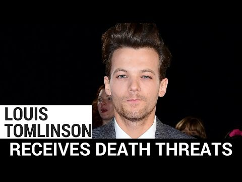 Louis Tomlinson Receives Death Threats