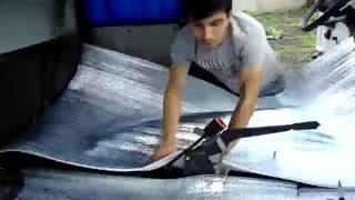 УБИРАЕМ ШУМ В САЛОНЕ Шумо Вибро Термо изоляция + обработка мастикой Автомобиль Газель дуэт