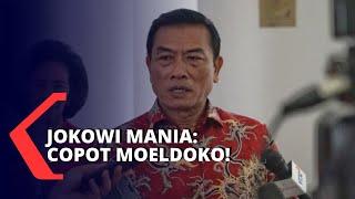 Jokowi Mania: Manuver Moeldoko Rugikan Jokowi, Copot Segera
