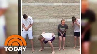 Teens Voluntarily Pepper-Sprayed In Viral Video   TODAY