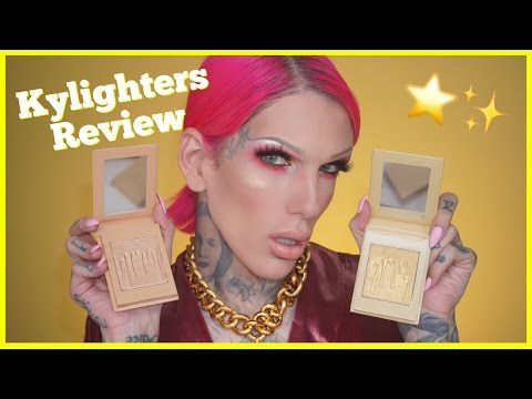 Thumbnail: KYLIE COSMETICS: KYLIGHTERS... Are They Jeffree Star Approved?!