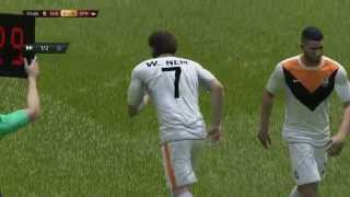 FIFA 15 PC Gameplay: FC Shakhtar  - Spartak Moscow 1P-1