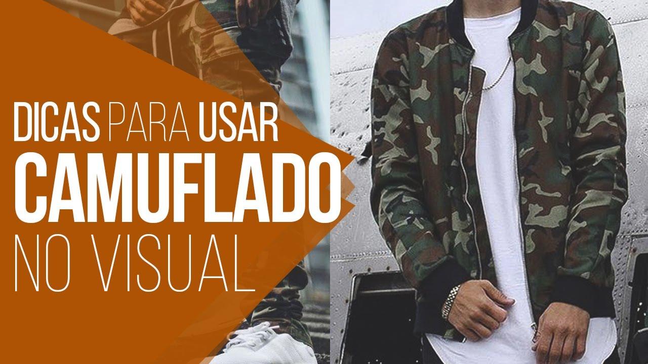 🍀 CAMUFLADO  5 Dicas para Usar Peças Camufladas -  DicasMM 🍀 - YouTube 7aaf3a77bf8