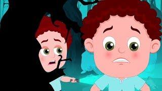 страшно леса | детский стишок | Хэллоуин рифмы | Scary Woods