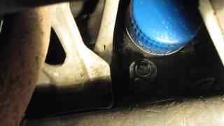видео Ваз 2115 2110 замена датчика давления масла