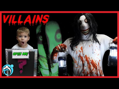 Villains Creepy Pasta Jeff the Killer Returns | Thumbs Up Family