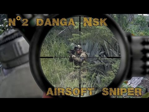 danga NSK airsoft sniper #2 scope cam in da forest