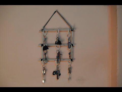 DIY Wall Hanging Key Holder | Best out of waste
