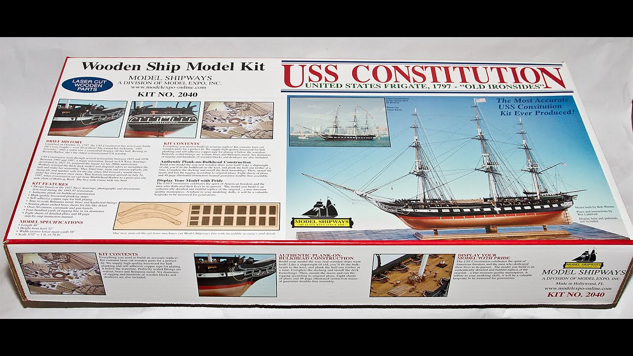 model shipways uss constitution 1797 old ironsides 1 76 8 wooden