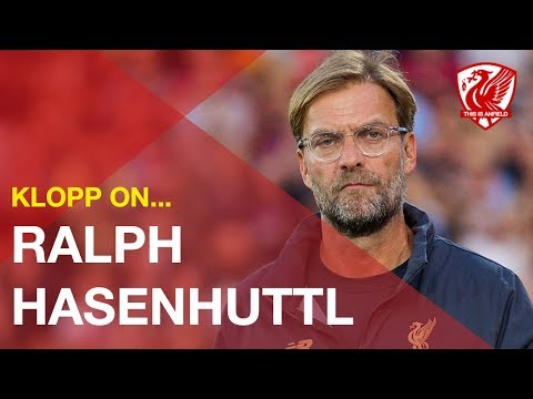 Jurgen Klopp gives his opinion on new Southampton manager Ralph Hasenhüttl