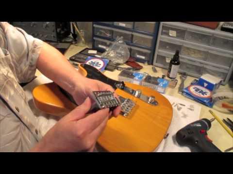 Fender Affinity Tele Seymour Duncan Upgrade Part 1