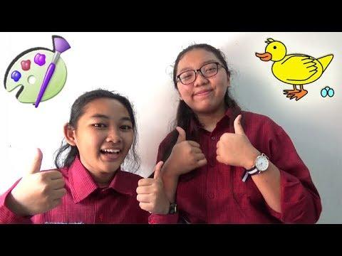 #3 Tutorial Cara Menggambar Bebek di Microsoft Paint - YouTube