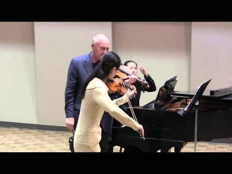 Strauss violin sonata masterclass with William Preucil