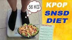 Trying SNSD's DIET (Kpop Diet) and this is what happened