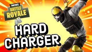 Hard Charger Skin Gameplay In Fortnite Battle Royale