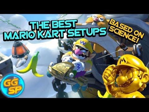 The Best Mario Kart 8 Deluxe Setups Based On Science Youtube
