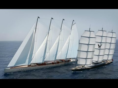 Top 10 Largest Sailing Yachts In the World!