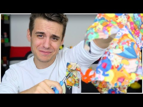 Destroying the Pokémon Hat I've worn everyday for 5 years (the truth behind it)