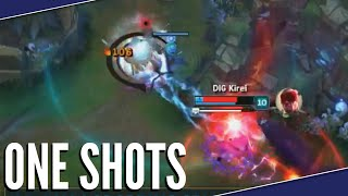 League Of One Shots | League Of Legends Montage