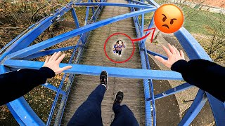 ESCAPING ANGRY MOM (Epic Parkour Chase in Paris)