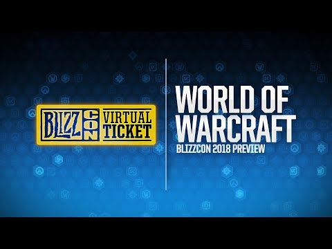 World of Warcraft на BlizzCon 2018 (субтитры)