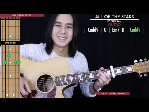 All Of The Stars Guitar Cover Acoustic - Ed Sheeran 🎸 |Tabs + Chords|