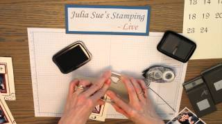 Event Table Numbers - Julia Sue Stamping Live