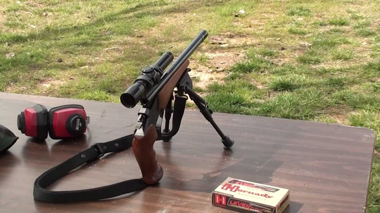thompson contender in 35 remington super 14 barrel [ 1280 x 720 Pixel ]