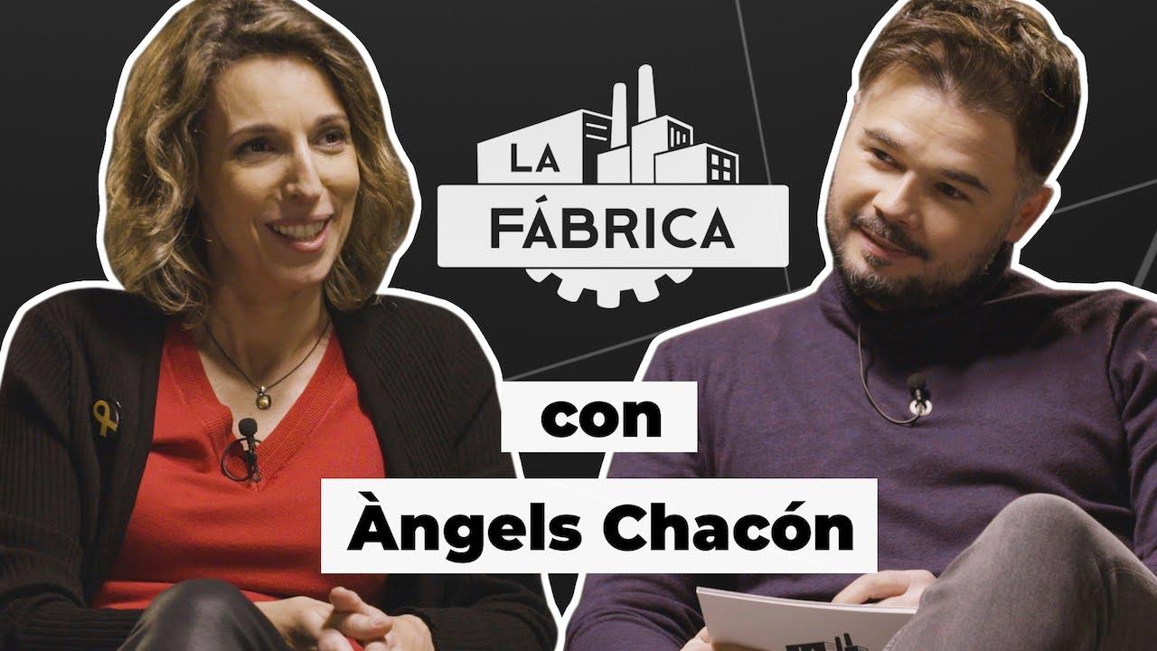 LA FÁBRICA DE RUFIÁN CON ÀNGELS CHACÓN. #LFChacón