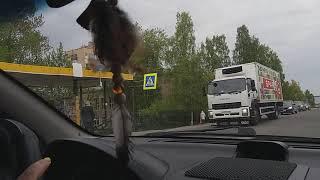 Ситуации на дороге ☝️при начальном вождении.Урок вождения в городе.