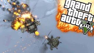 EEN EPISCH LUCHTGEVECHT! | GTA 5 Online Funny Moments
