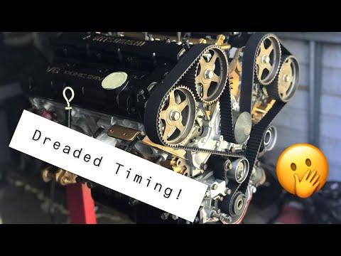 Timing DONE!! *Engine Rebuild Pt. 3* (1993 3000GT SL)